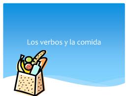 La comida - WordPress.com