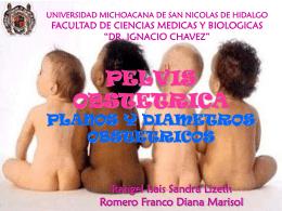 PELVIS OBSTETRICA PLANOS Y DIAMETROS OBSTETRICOS