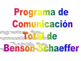 Programa de Benson Schaeffer