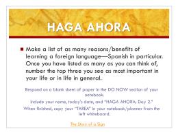 HAGA AHORA - Madison County Schools