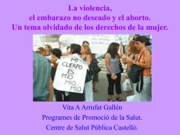 Lesiones producidas por la violencia durante el embarazo