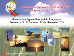 Oficina de MDL e IC de Canadá
