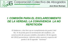COMISIÓN PARA EL ESCLARECIMIENTO DE LA VERDAD, LA