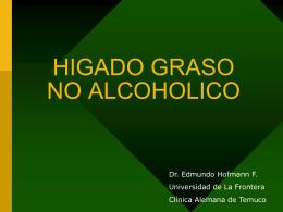 HIGADO GRASO NO ALCOHOLICO - Universidad de La Frontera