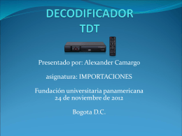 decodificador TDT