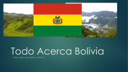 Todo Acerca Bolivia