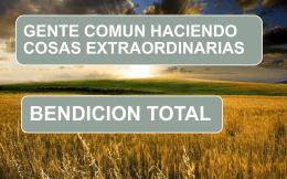 BENDICION DE PROSPERIDAD EN TODAS LAS COSAS