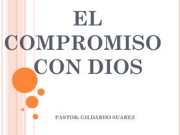 el compromiso con dios