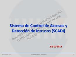 Presentación – SCADI