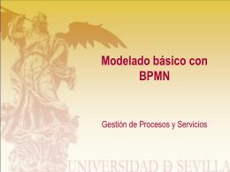 Modelado básico con BPMN