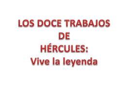 Selección trabajos Hércules