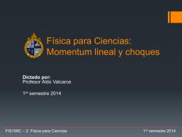 Clase 15: Momentum