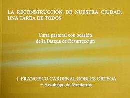 carta_pastoral - Arquidiócesis de Monterrey