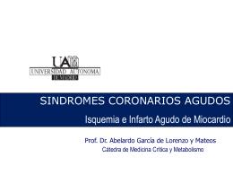 Sindromes coronarios agudos 2011_2012