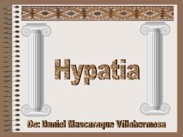 Trabajo de Hypatia