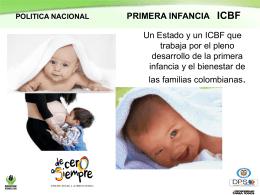 Presentación Dirección de Primera Infancia