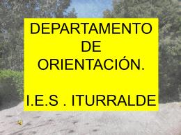 Orientaciones para alumnos de 3º de la E.S.O.