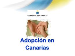 Adopción en Canarias - Gobierno de Canarias