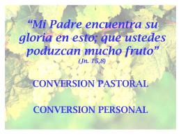 06 Tema Conversión Pastoral