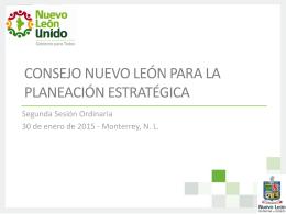 Consejo Nuevo León para la Planeación Estratégica