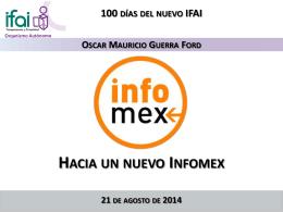 Hacia un nuevo Infomex 3.0