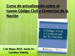 Curso de actualización sobre el nuevo Código Civil y Comercial de