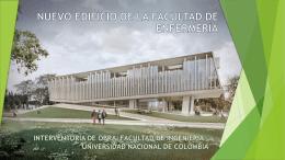 nuevo edificio de la facultad de enfermería