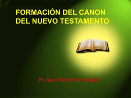 formación del canon del nuevo testamento