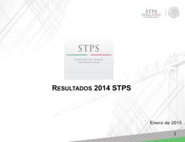 Presentación de PowerPoint - Secretaría del Trabajo y Previsión