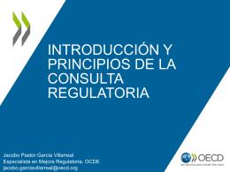 Taller sobre mejora regulatoria