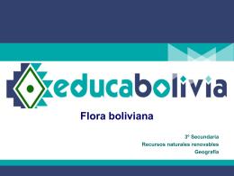 Flora boliviana