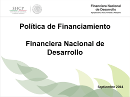 Política de Financiamiento