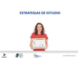 estrategias de estudio para el aprendizaje virtual en los cursos de