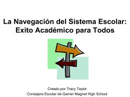 Exito Académico para los Alumnos de la Escuela Secundaria