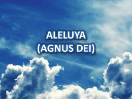 ALELUYA (AGNUS DEI)
