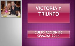 """Descargar PPT () """"Culto Accion de Gracias 2014 """""""