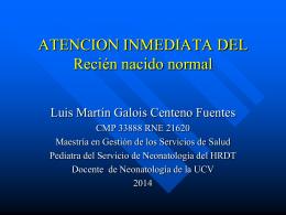 ATENCIÓN DEL RECIÉN NACIDO CMP