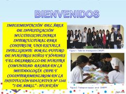Experiencia de Innovación Educativa (día dos) - UGEL-06