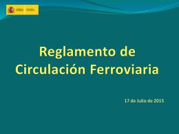 presentación - Agencia Estatal de Seguridad Ferroviaria