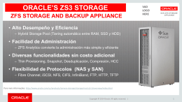Oracle fs1 flash storage