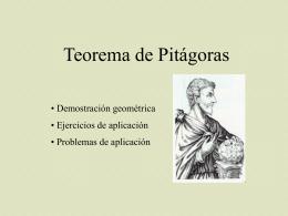 Teorema de Pitágoras: 3
