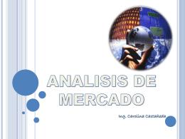 ANALISIS DE MERCADO - creacionempresarial