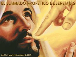 La palabra de Jehová vino a mí, diciendo: ¿Qué ves tú, Jeremías?