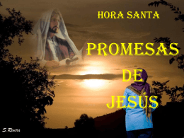HORA SANTA - Seminario del Buen Pastor