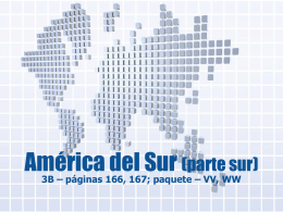 América del Sur (parte norte)