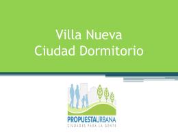 Villa Nueva Ciudad Dormitorio