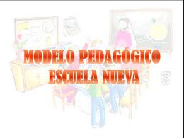 Definicion Escuela Nueva