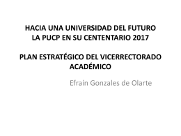 profesores - Vicerrectorado | PUCP - Pontificia Universidad Católica