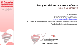 Descarga las diapositivas de la profesora Adriana Arroyave