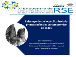 La responsabilidad social empresarial: Primera infancia